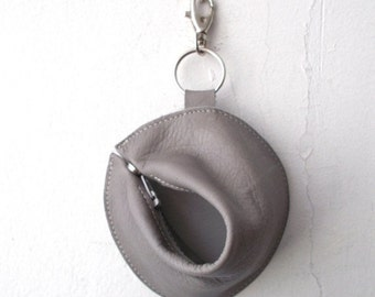 ON SALE 1+1 Fortune cookie wallet ,The Perfect Gift - Light gray
