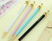 Crown Pen 0.5mm Black Ink or Blue Ink • Crown Gel Pen Genuine M&G Brand • Planner Supplies