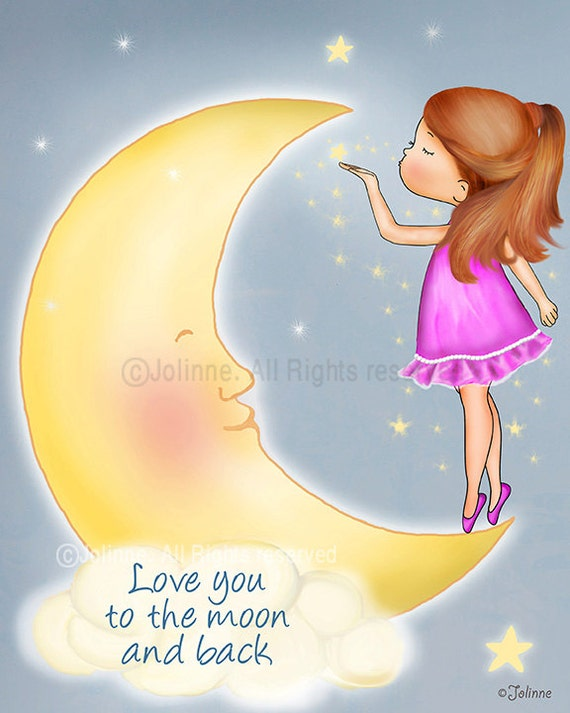 Love you to the moon and back, wall art quotes,kids room art,art for bedroom,nursery wall art,wall art quotes,quote,quote prints,girls room