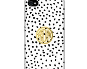 Monogrammed iPhone / Cell Phone Case - DALMATIAN Collection