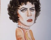 Dr. Frankenfurter mini painting