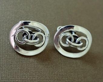 Emma Taxco Earrings Silver Francisco Rivera