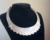 Collar Necklace, Tribal Boho Fall Fashion, Bohemian Jewelry, Asian Tribal Design