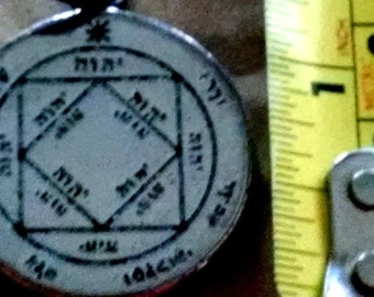 3rd pentacle of the sun third - magick circle aquire great wealth