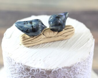 Customized wedding cake topper Love birds cake topper Wedding cake topper
