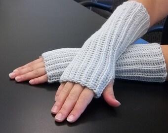Fingerless gloves, arm warmers, long gloves, ribbed gloves, winter gloves, texting gloves, wrist warmers