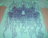 T-Shirt - Interdimensional Light Ship (Mint)