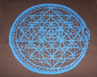T-Shirt - Seal of Ouroboros (Blue)