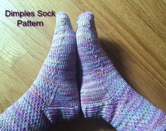 Knitted Sock Pattern | Knitting | Cuff Down Socks | Knitting Sock Pattern