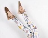 Cactus Leggings - Hand Printed - Organic Cotton Leggings - High Waisted Leggings - Slow Fashion - Eco Fashion - Thief and Bandit®