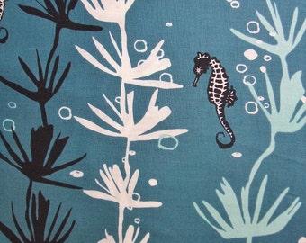 Tides Seahorse Seaweed Ocean Andover Jane Dixon Fabric Yard