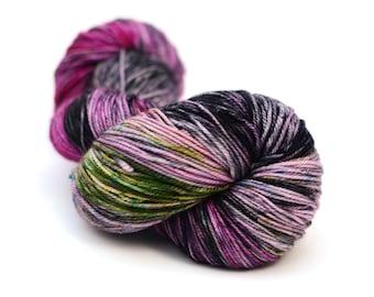 Hand Dyed Sock Yarn - Cashmere Merino - 115g