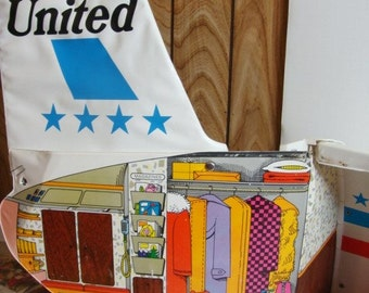 Barbie's Friend Ship - United Airlines Airplane