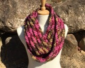 Super Chunky Ribbed Chenille Cowl