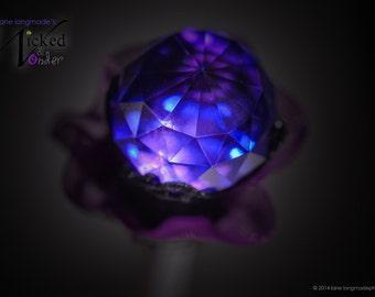 Maleficent Scepter, Maleficent Magic wand, Maleficent Villain, Descendants Mal, Disney Villains, or Halloween costume & cosplay black purple