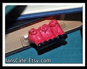 THREE LITTLE PIGS - Unique Bookmark - Ready to Ship - Perfect Child's Gift