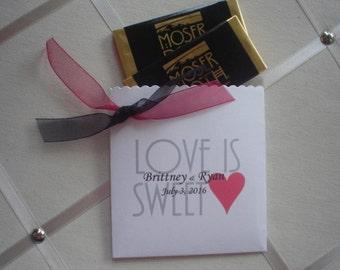 Cutest Envelopes for Wedding/Shower  Favor Love is Sweet