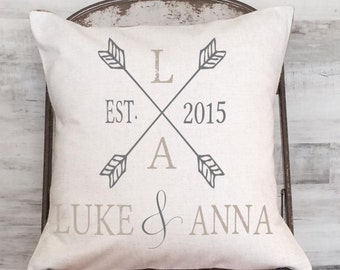 Cotton Anniversary Gift wedding gift Anniversary Gift Two Arrows
