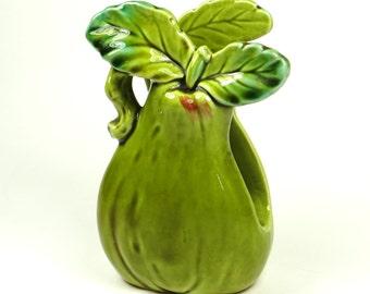 Vintage Pear Napkin Holder Enesco E8267  Porcelain Fruit