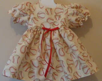 Dress and pants for American Girl size or 18 inch doll