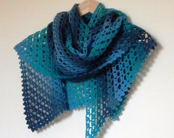 Tess Shawl ~ PDF Crochet Pattern