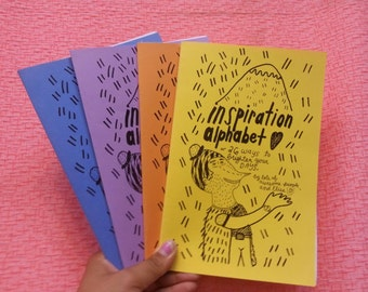 Inspiration alphabet, or 26 ways to brighten your days: an interview and illustration zine