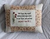 Aunt Pillow