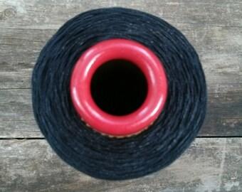 Starched Stretchy Yarn - Black yarn