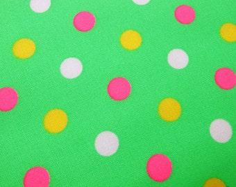 Polka dot  - Green  -