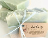 Surf's Up! Shea Butter Soap with Tussah Silk