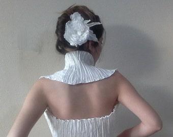 Ivory shoulders wrap shrug. wedding shrug, Bridal Shrug Bolero, Shirred Top Summer weddings Clothes