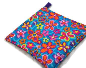 Spring Flower Fabric Pot Holder