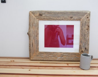 Reclaimed Farm Wood Artwork or Photo Frame 11x14
