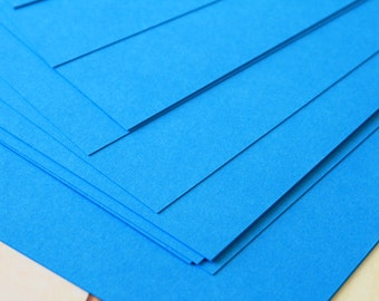 DEEP BLUE Craft Style Colour Card Stock 260gsm 95lb cover