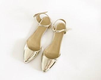 Adele Pointed Vegan Sandals (Handmade to order)