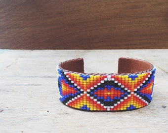 Native American Beaded Cuff