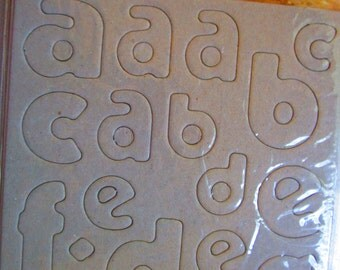 Chipboard Alphabet and numbers  Best creation USA