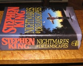 Stephen King Hardback Book Nightmares & Dreamscapes 1993 Excellent Condition Short Stories