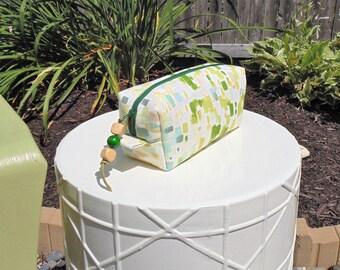Cosmetic Pouch, Boxy Bag, Women's Makeup Pouch, Gadget Bag