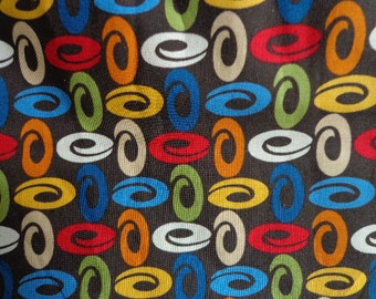 Geometric Patterned, Richbloom Fabric, One Yard plus 15 inches