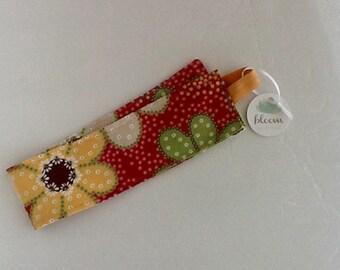 Fall  floral corduroy headband