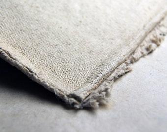 Raw Hemp Linter for paper making 1 pound cut sheet