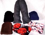 Men's Warm Socks, Warm Socks Handmade, Fleece Men's Socks, Unique Socks, Fleece Socks Handmade, Novelty Socks, Handmade Gifts for Men, Sox