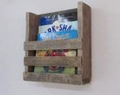 Mailbox, Bookshelf, Mail, Mail Organizer, Books, Book Shelf, Rustic, Letters, Magazines, Reclaimed Wood, Farmhouse, Woodwork, Home