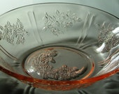 Vintage Sharon, Cabbage Rose Pink Cereal Bowl(s), (7 Available)