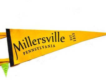 Handmade Millersville, PA Pennant