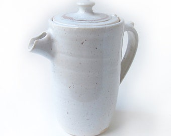 Lidded Coffee Pitcher