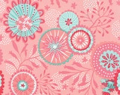 Coral Queen of the Sea by Stacy Iest Hsu for Moda ~ 100% Cotton BTY ~ Pink  20513-15