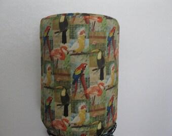 Dispenser Bottle Cover 5 Gallon Standard Size- Jungle birds