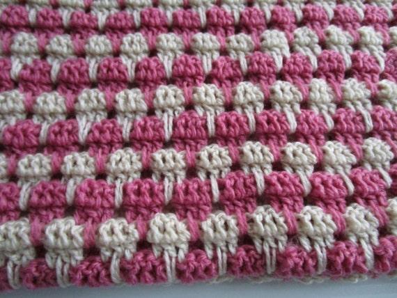 Larksfoot Crochet Afghan Pattern : Easy Crochet Blanket Pattern, Arcade Stitch, Larksfoot ...